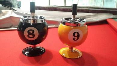 Pool Table/ Billiard Ball Ashtray