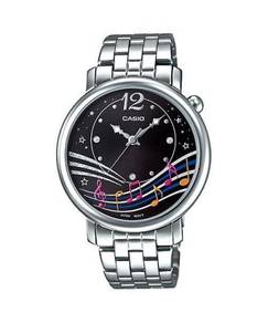 Watch - Casio Lady Music Note LTPE123L-1 -ORIGINAL