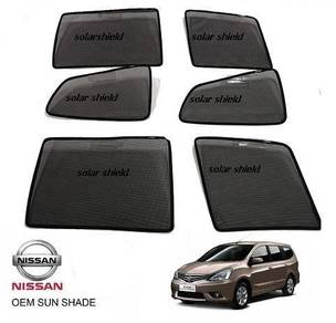 Nissan Grand Livina OEM Sunshades 6 pcs