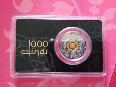 Ayat 1000 Dinar Bimetal