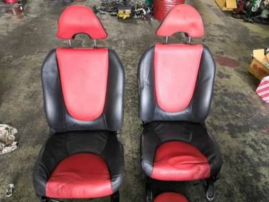 JDM Honda Jazz Seat Black Red GD1 GD3 GD2