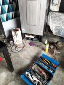 Repair dan servis peti sejuk mesin basuh aircond w