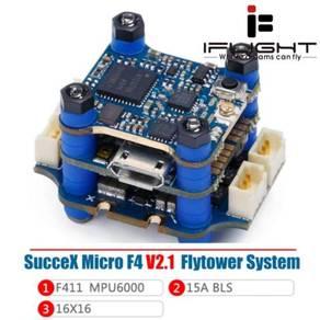 IFlight SucceX Micro F4 V2.1 FC & 15A Blheli_S 2-