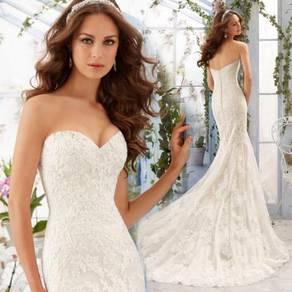 White wedding bridal dress gown RB2053