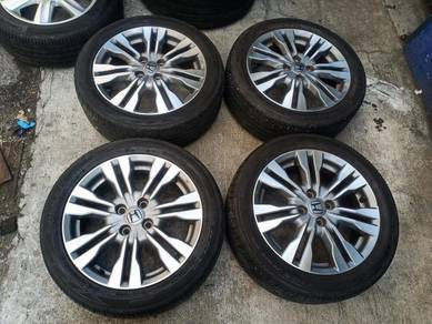 Honda original sport rim 16 inch jazz city