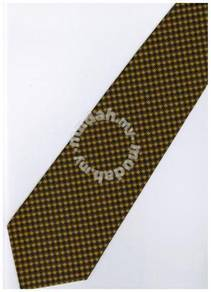 GO08 Gold Solid Formal Neck Tie
