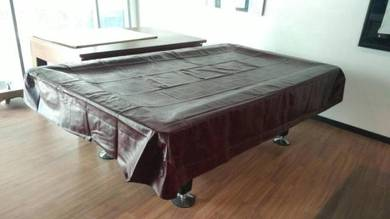 Leather Pool Table Cover