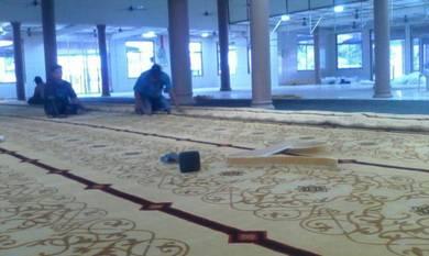 Mosque carpet / kapet masjid / carpet surau /