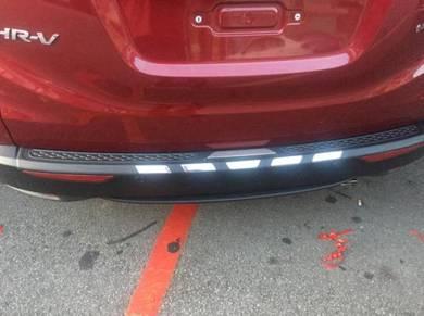 Honda hrv bumper guard bumper protector w chrome