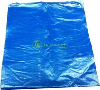 Plastic Sampah Biru 47 X 54 cm S