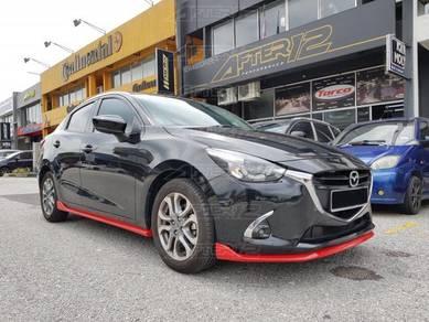 Mazda 2 Sedan hatch back skirting skirt bodykit