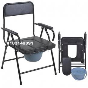 Potty Toilet Seat Commode Chair + Backrest (A)