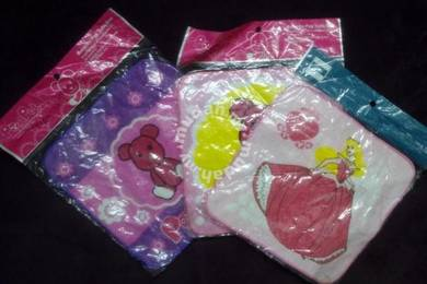(WJ 0106) Baby/ Kids Cartoon Handkerchief