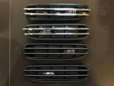 BMW E60 M5 Fender Grill E60 M5 Bodykit