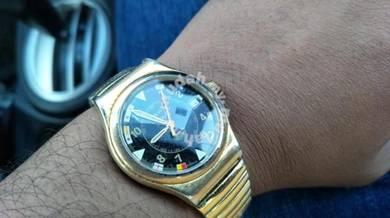 Vintage Immersion Stendardo quartz Swiss watch