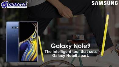 Samsung Galaxy Note 9 (128GB ROM)ORIGINAL-MYset