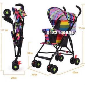 Kereta Dorong Foldable Baby Stroller (A)