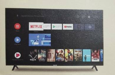 Android smart tv 43 inci