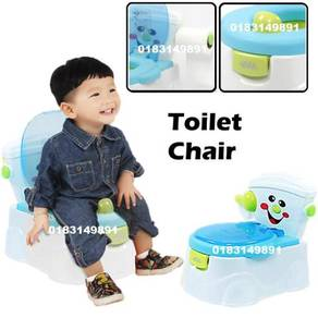 Tandas Kanak Baby Toilet Potty Commode Chair (B)