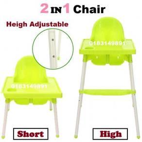 Kerusi Makan Baby High Short Dining Feeding Chair