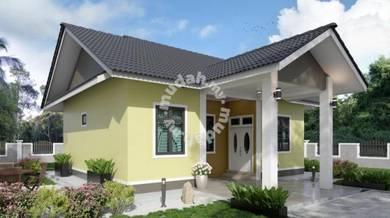 Unit Rumah Banglo Berdekatan SK Kulim,Gunong,Bachok