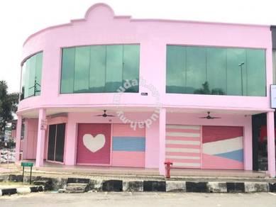 Taiping Corner Shoplot For Rent 4100sqf Shop House 2 Storey Kedai Sewa