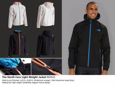 The North Face Light Weight Windbreaker Jacket
