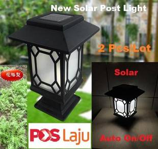 Solar Post Decorative Light Outdoor Waterproof New