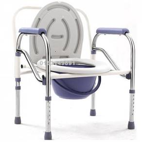Potty Toilet Seat Commode Chair + Backrest (C)