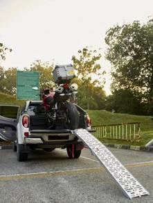 LiftaLite Heavy Duty Foldable Motorcycle Ramp