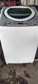 Mesin basuh inverter toshiba 14 kg terpakai auto