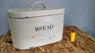 Antique Rare Vintage Old Marks &Spencer Bread Tin