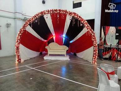 Indian Wedding Deco Sunflower Manavarai Pelamin