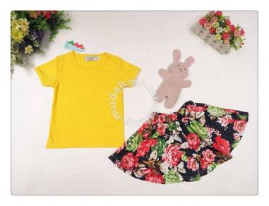 Style Charming Girl set-Yellow