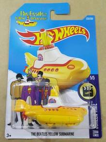 Hotwheels The Beatles Yellow Submarine