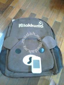 Rillakuma bagpack 2 dark brown