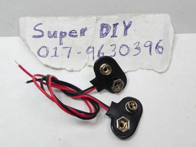 9V Battery snap connector clip on battery