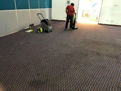 Membekal/ pasang carpet dan men cuci karpet