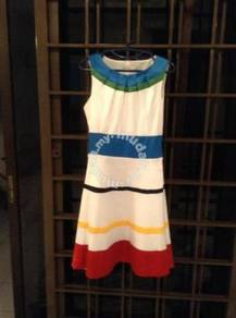 Dress colour block