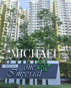 One Imperial (1050sq/2carpark/Partially furnish) At Relau,Penang