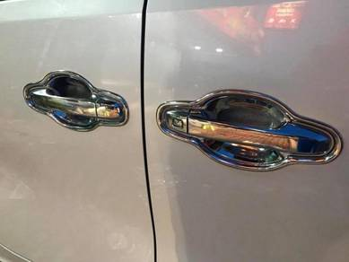 Perodua alza myvi altis chrome door handle cover