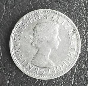 Australia 1 Florin - Elizabeth II, 1957