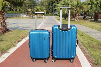 Stripe travel luggage
