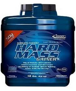 Inner armour hard mass gainer muscle susu protein