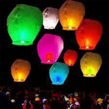10pcs sky lanterns high quality