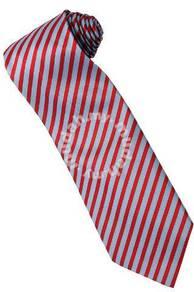 ER4 Red Blue Top Quality Striped Formal Neck Tie