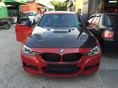BMW F30 3-series/Carbon Fiber Bonnet Hood