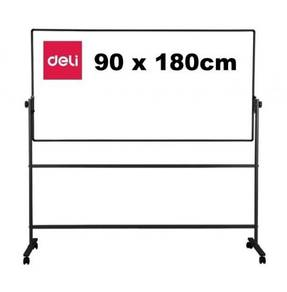 DELI 7884 Double Sided Magnetic Board 900x1800mm