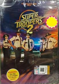 DVD English Movie Super Troopers 2