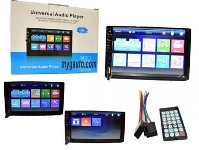 MP5 Double Din Player USB BLUETOOTH - BARU
